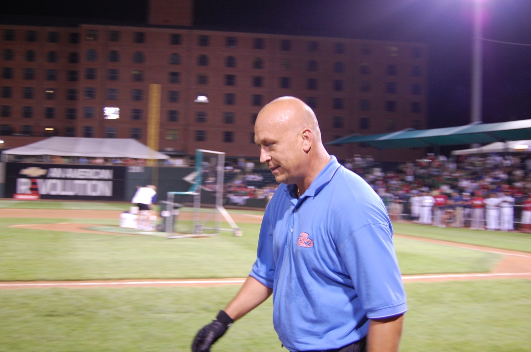 Cal Ripken wowed fans with his wood during the opening night ceremonies of Cal Ripken World Series.